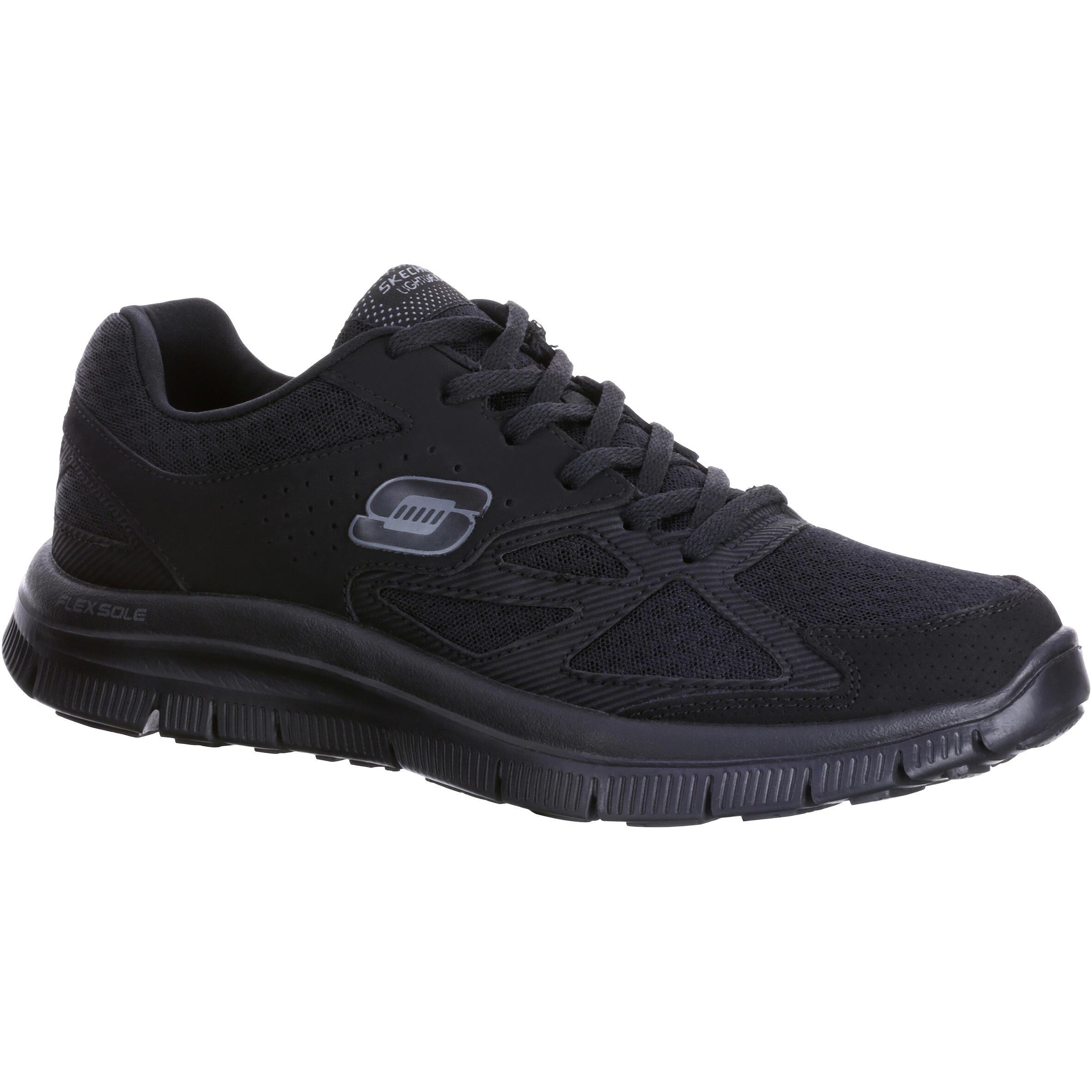 2501257e087 Skechers Herensneakers voor sportief wandelen Flex Advantage zwart |  Decathlon.nl