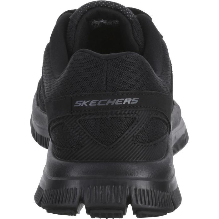 Zapatillas de marcha deportiva para hombre Flex advantage negro