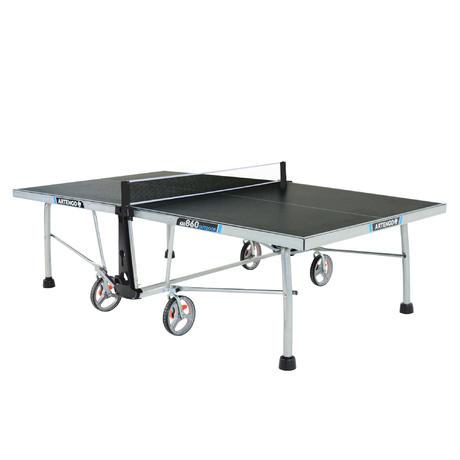 Mesa de ping pong ft860 outdoor artengo - Table ping pong decathlon ...