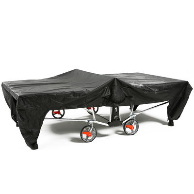 Table Tennis Open Table Cover - Black