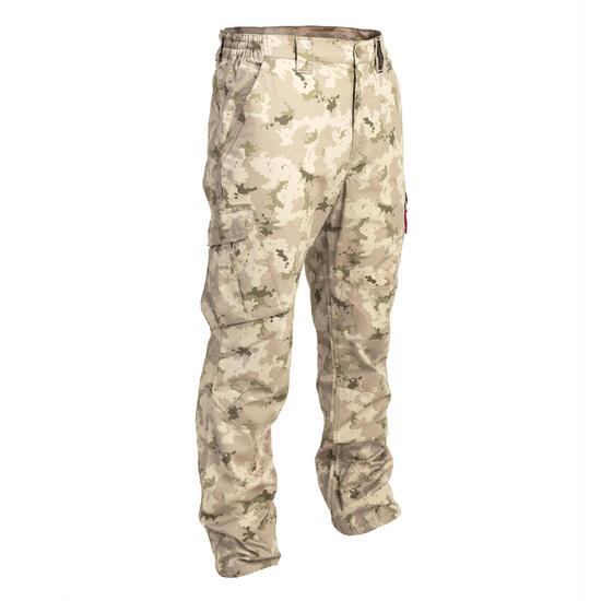 Broek 500 camouflage half tone, licht en fris - 1065790