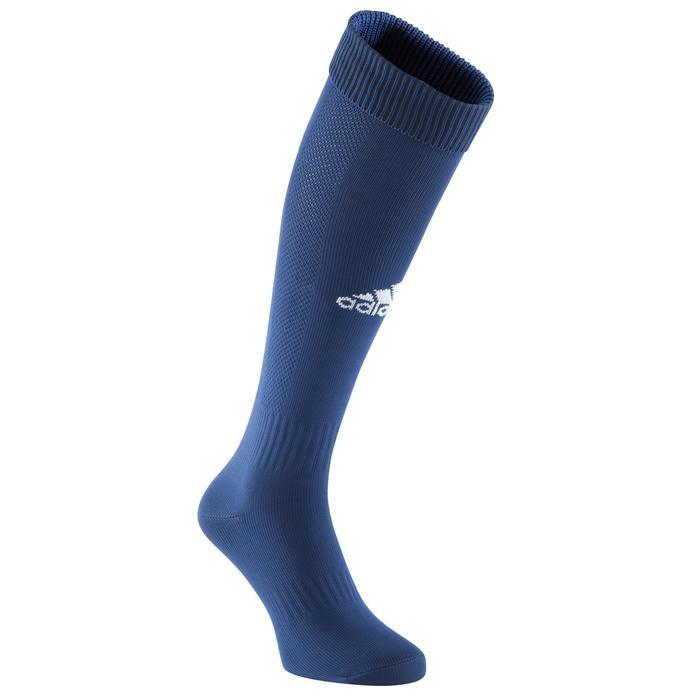 Chaussettes football enfant Santos bleu marine - 1066214