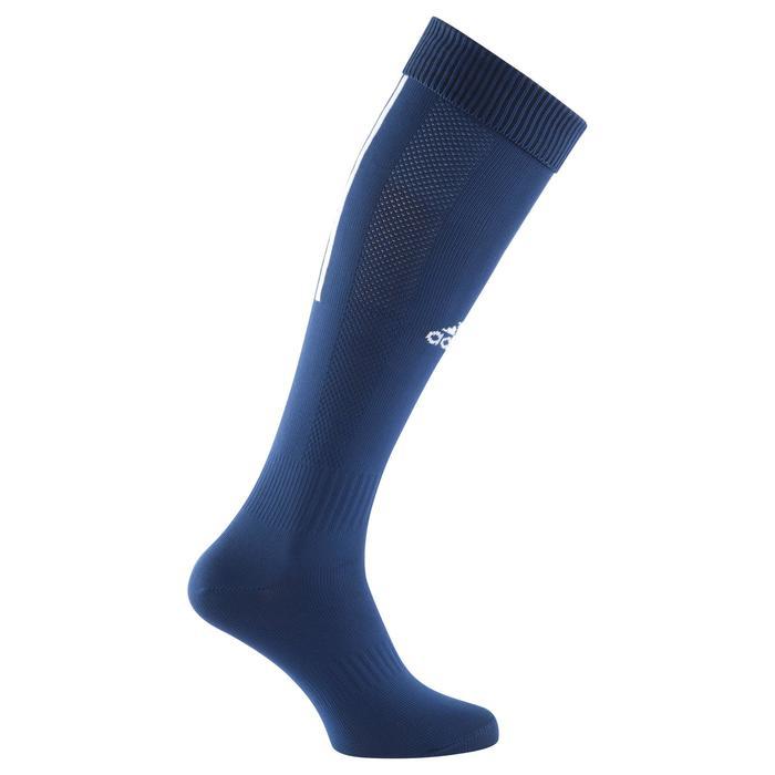 Chaussettes football enfant Santos bleu marine - 1066215