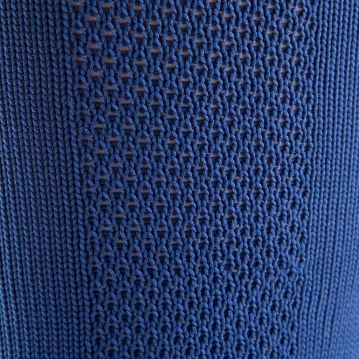 Chaussettes football enfant Santos bleu marine - 1066216