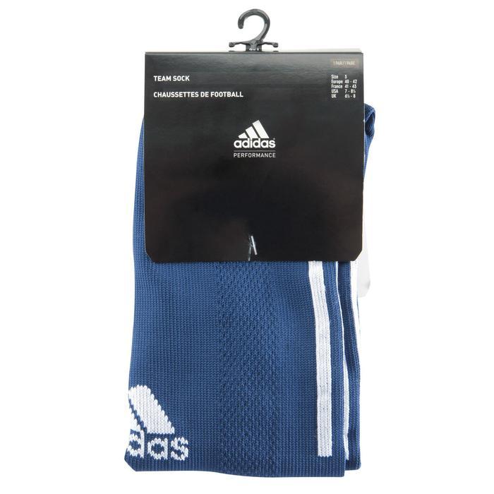 Chaussettes football enfant Santos bleu marine - 1066217