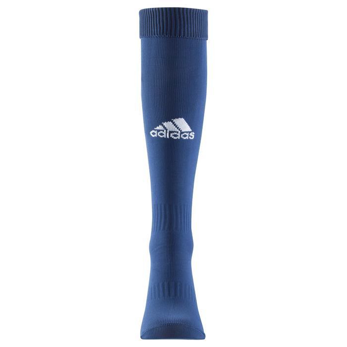 Chaussettes football enfant Santos bleu marine - 1066220