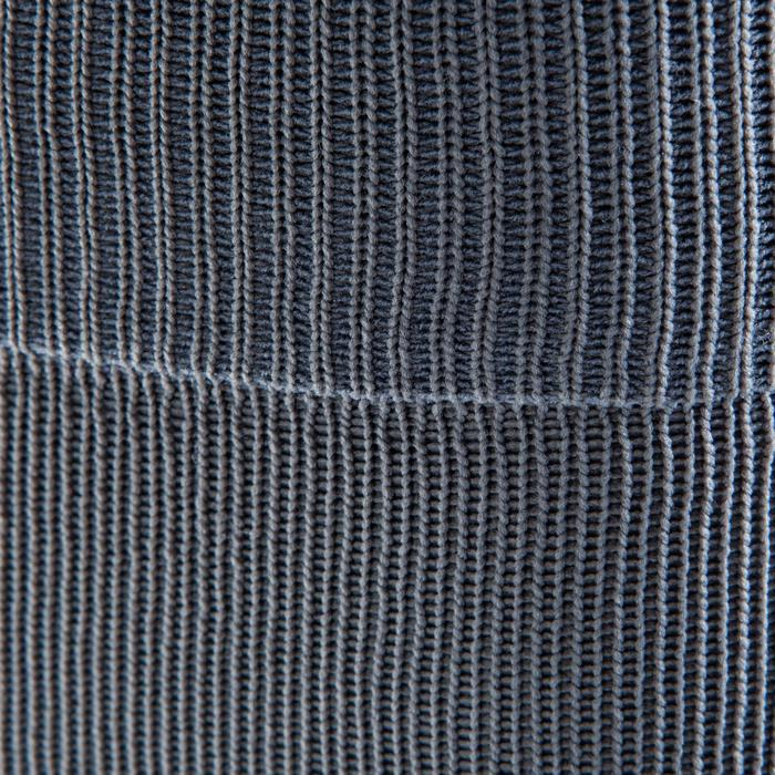 Chaussette de football adulte F500 noire et grise - 1066232