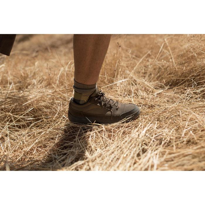 Chaussure chasse light 100 basse marron - 1066244