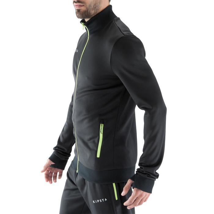 T500 Adult Football Training Jacket - Black