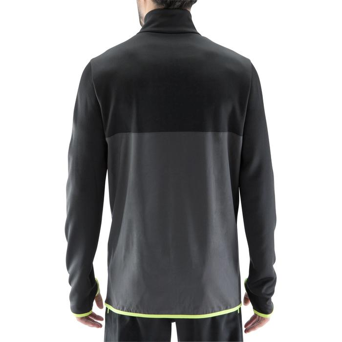 Sweat 1/2 zip d'entrainement de football adulte T500 - 1066331