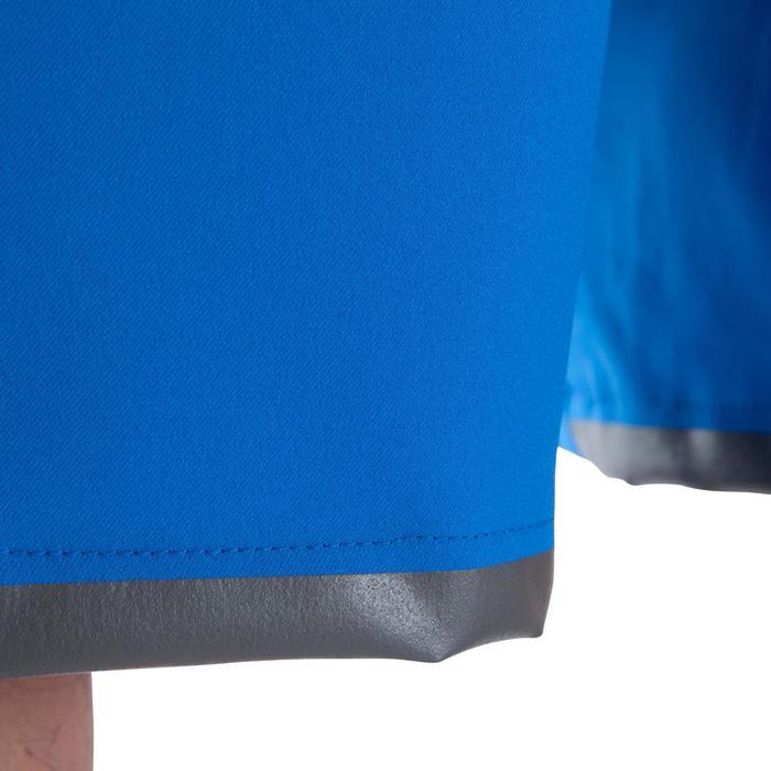 Short de football enfant F500 gris et - 1066359
