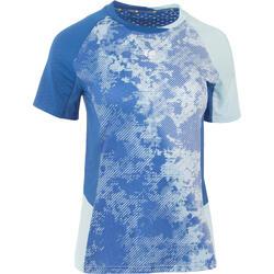 860 Women's Badminton T-Shirt - Light Blue