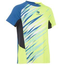 Badminton shirt 860 Dry voor kinderen geel