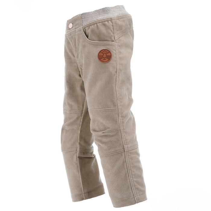 Pantalon de randonnée enfant garçon Hike 500 marine - 1066431