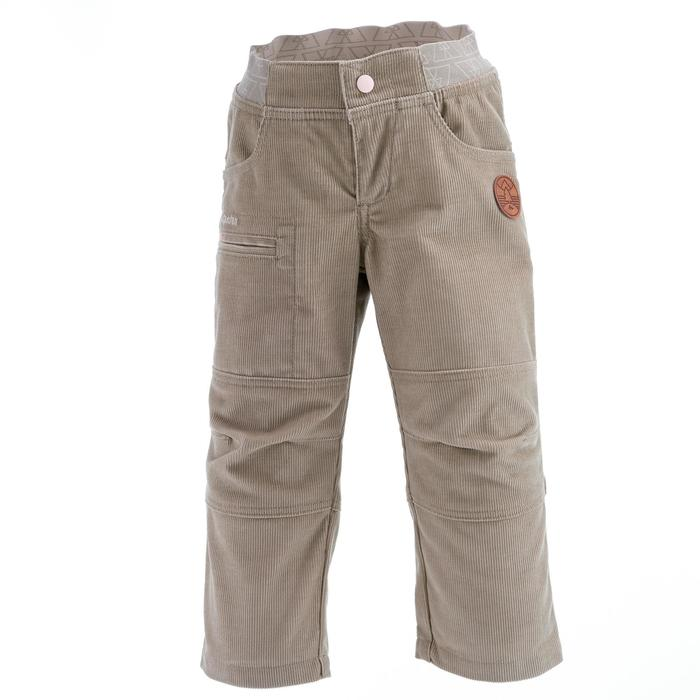 Pantalon de randonnée enfant garçon Hike 500 marine - 1066449