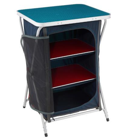 meuble de rangement de camping quechua. Black Bedroom Furniture Sets. Home Design Ideas