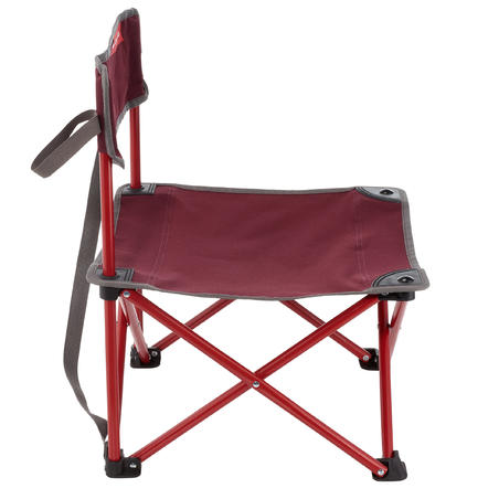 Low camping chair