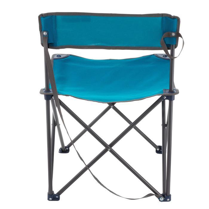 comprar silla plegable de camping azul decathlon