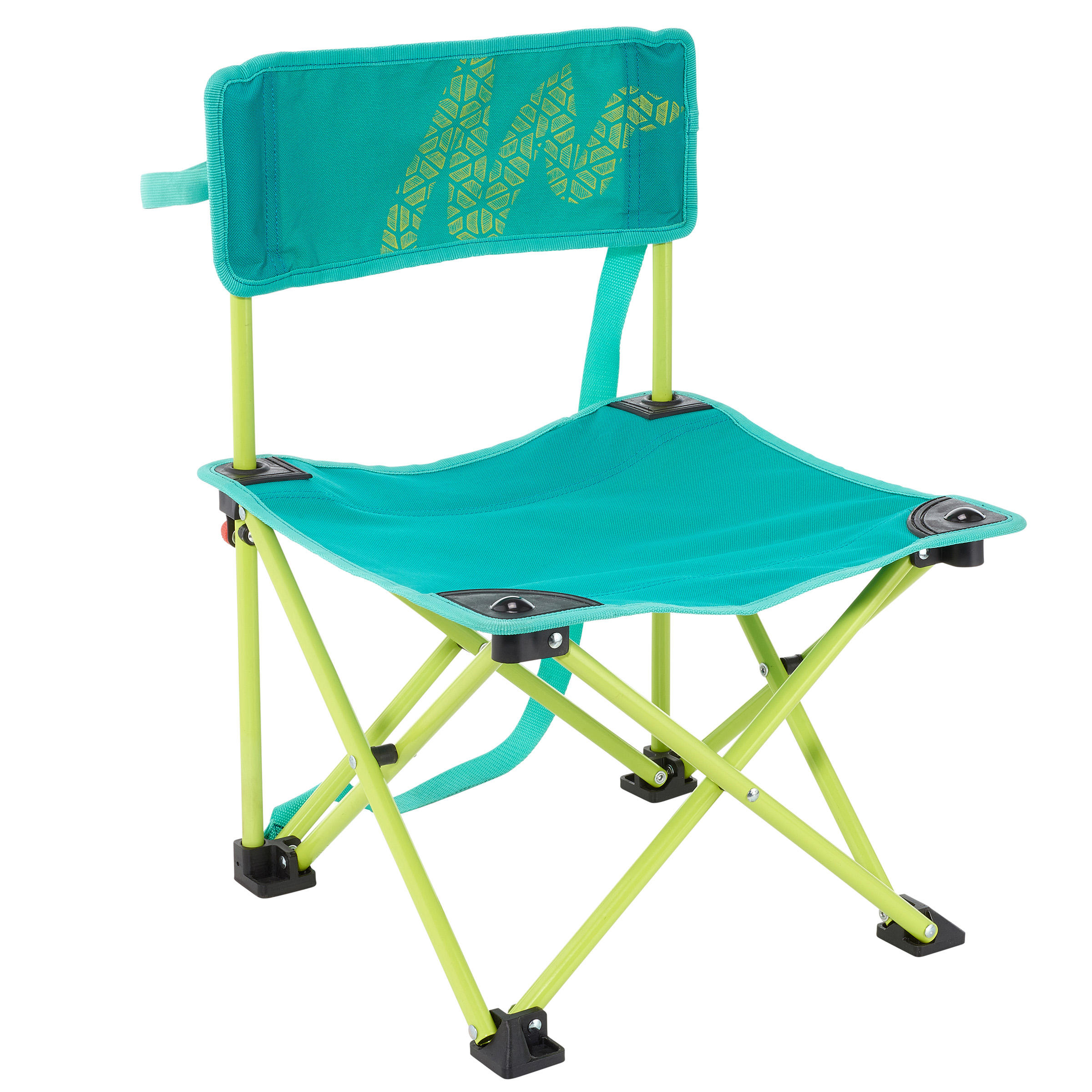 Children's camping chair / hiker's camp green