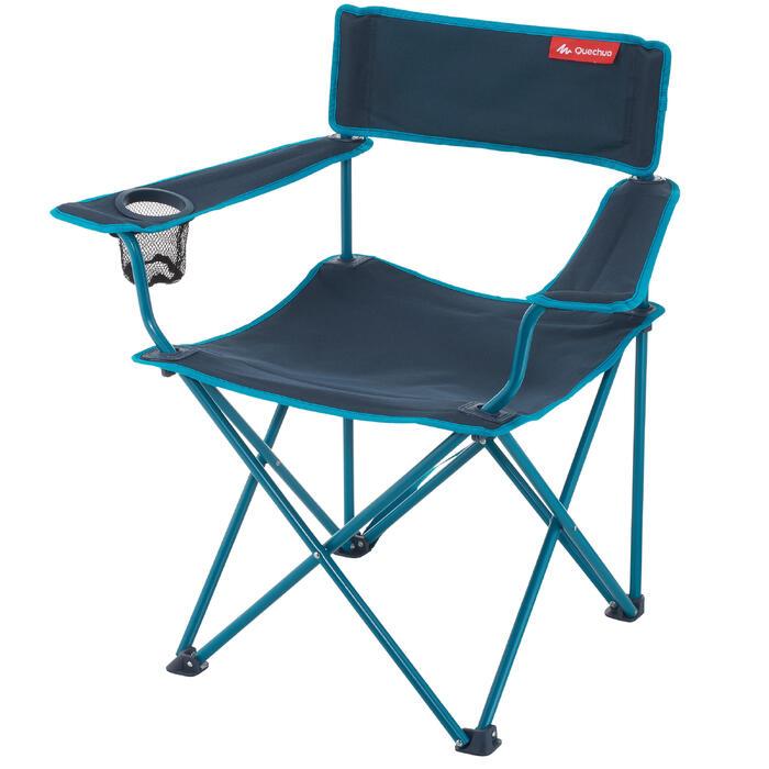 silla plegable de camping quechua decathlon