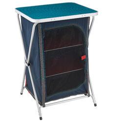 Opbergmeubel voor de camping / bivak blauw