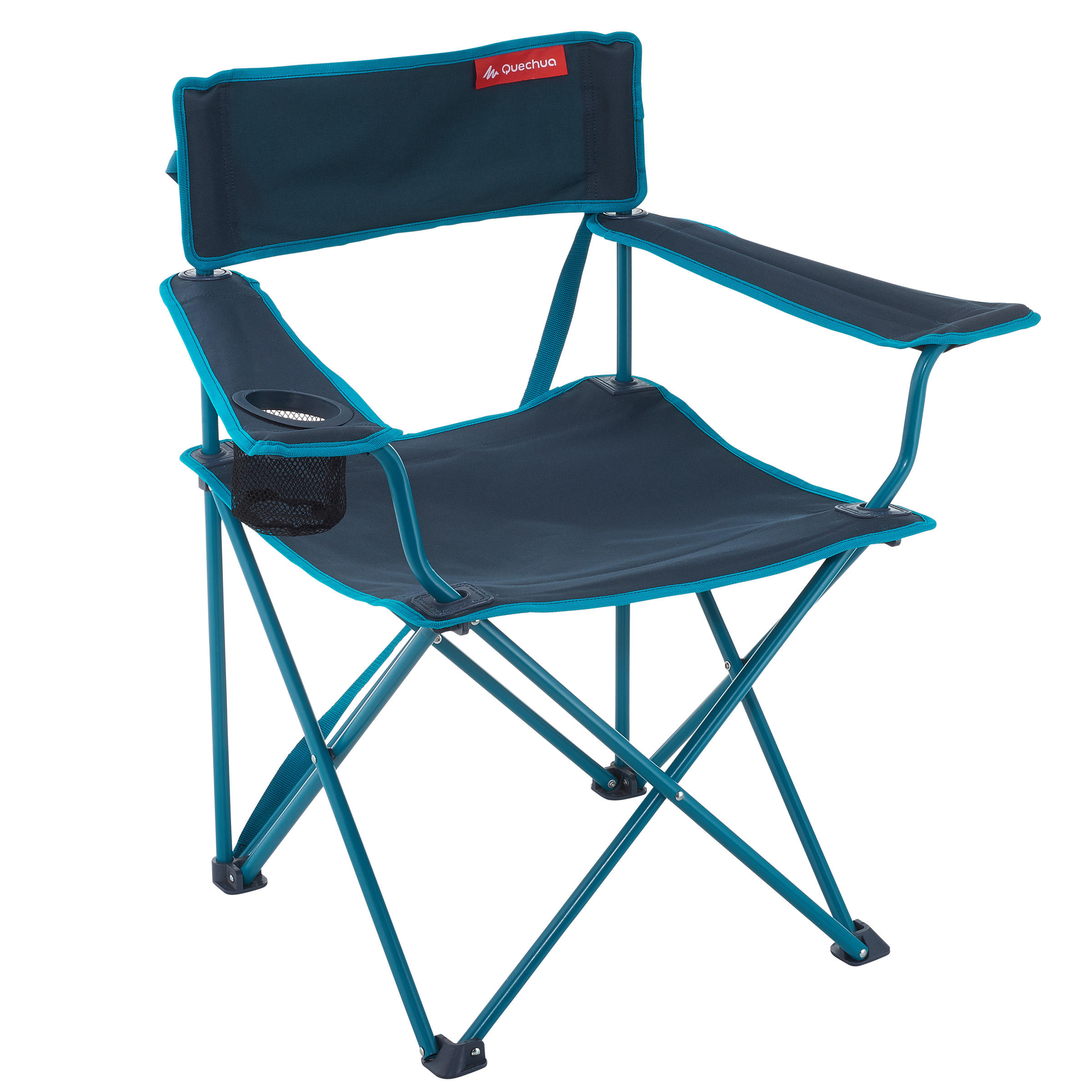 BLUE FOLDING CHAIR...