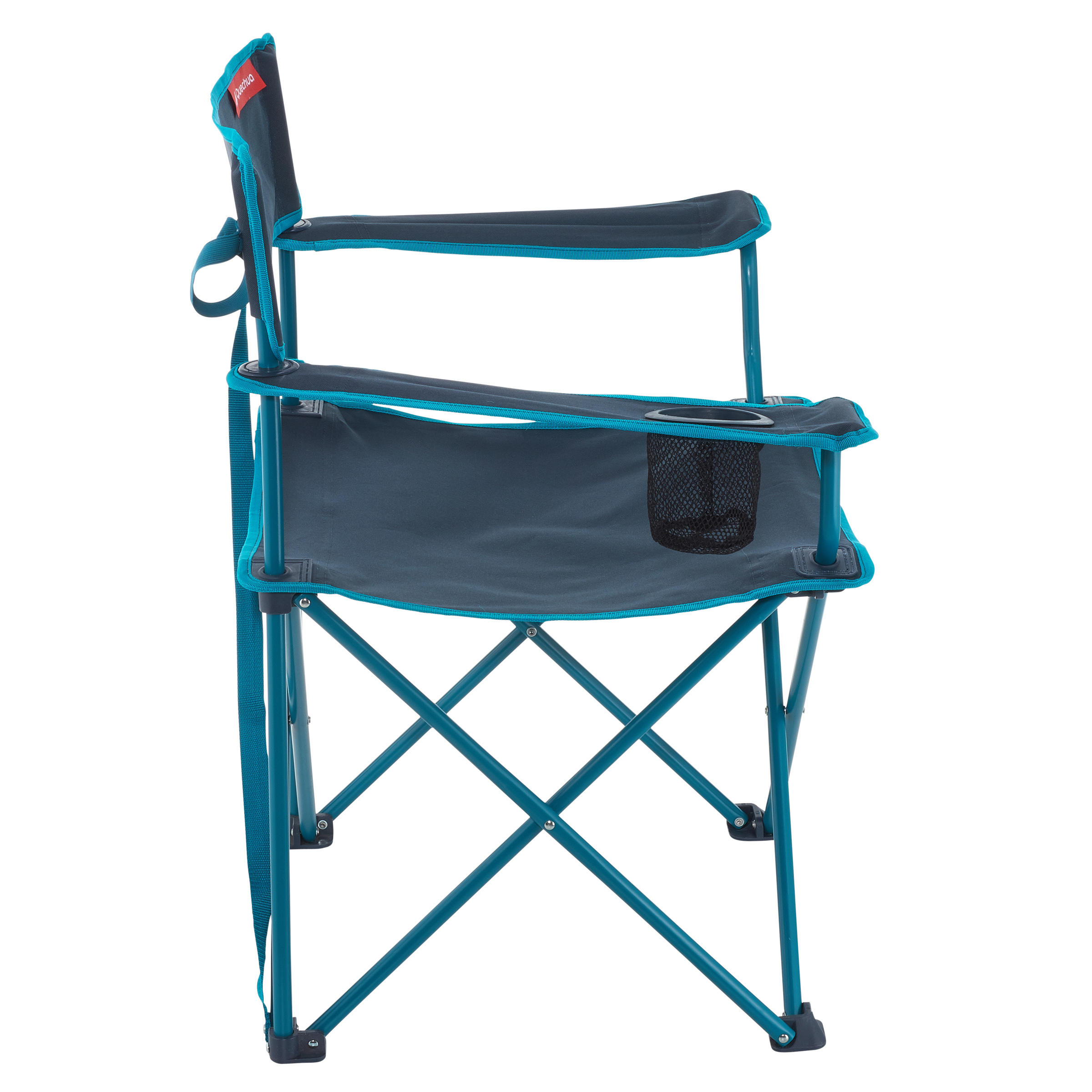 BLUE FOLDING CHAIR FOR CAMPING