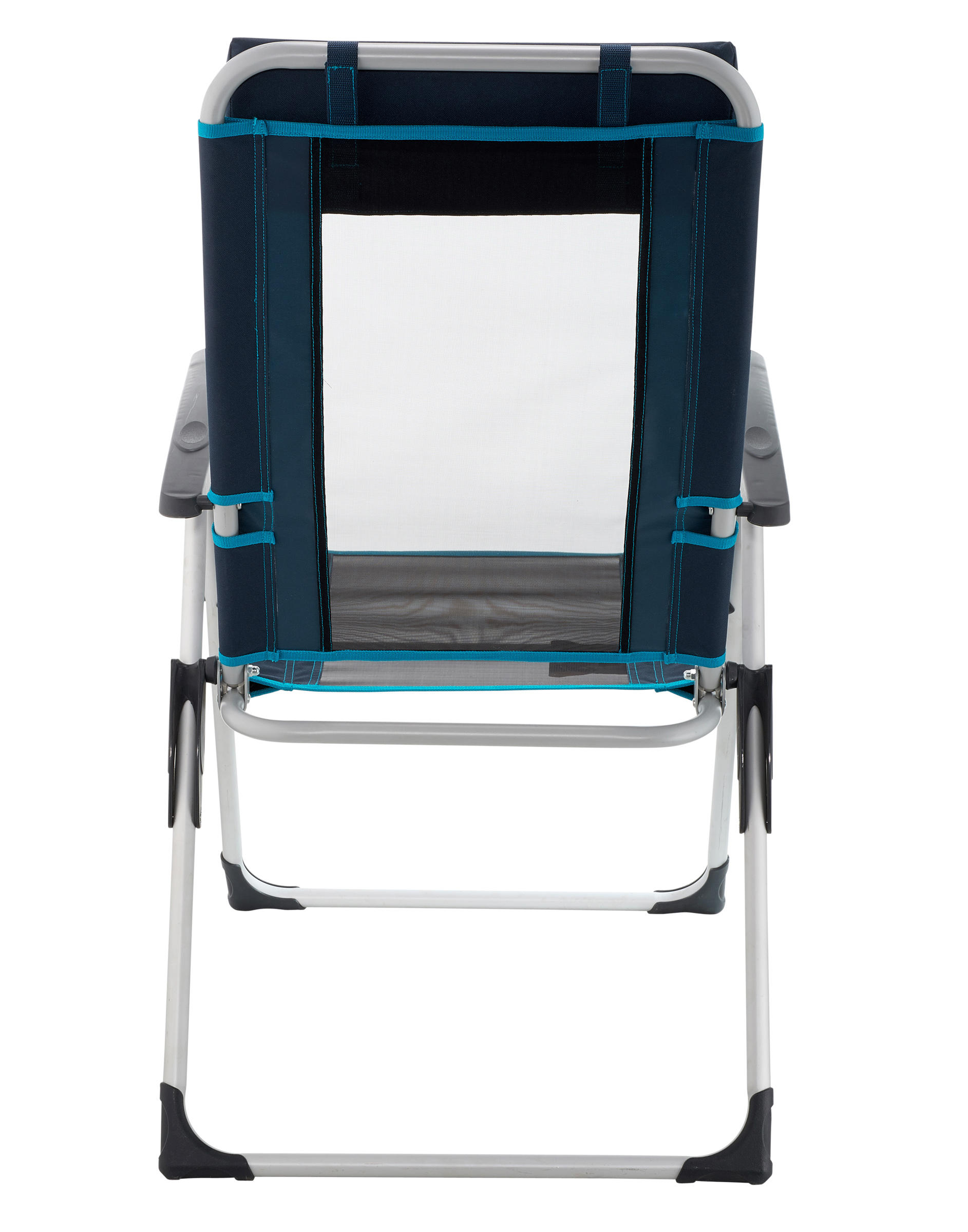 Comfortable Reclining Chair For Camping Blue