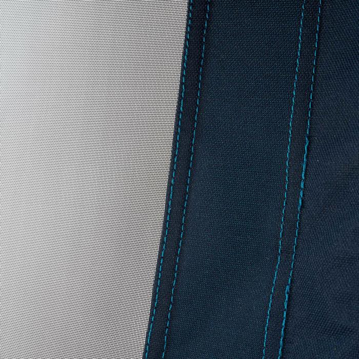Kantelbare kampeerstoel blauw