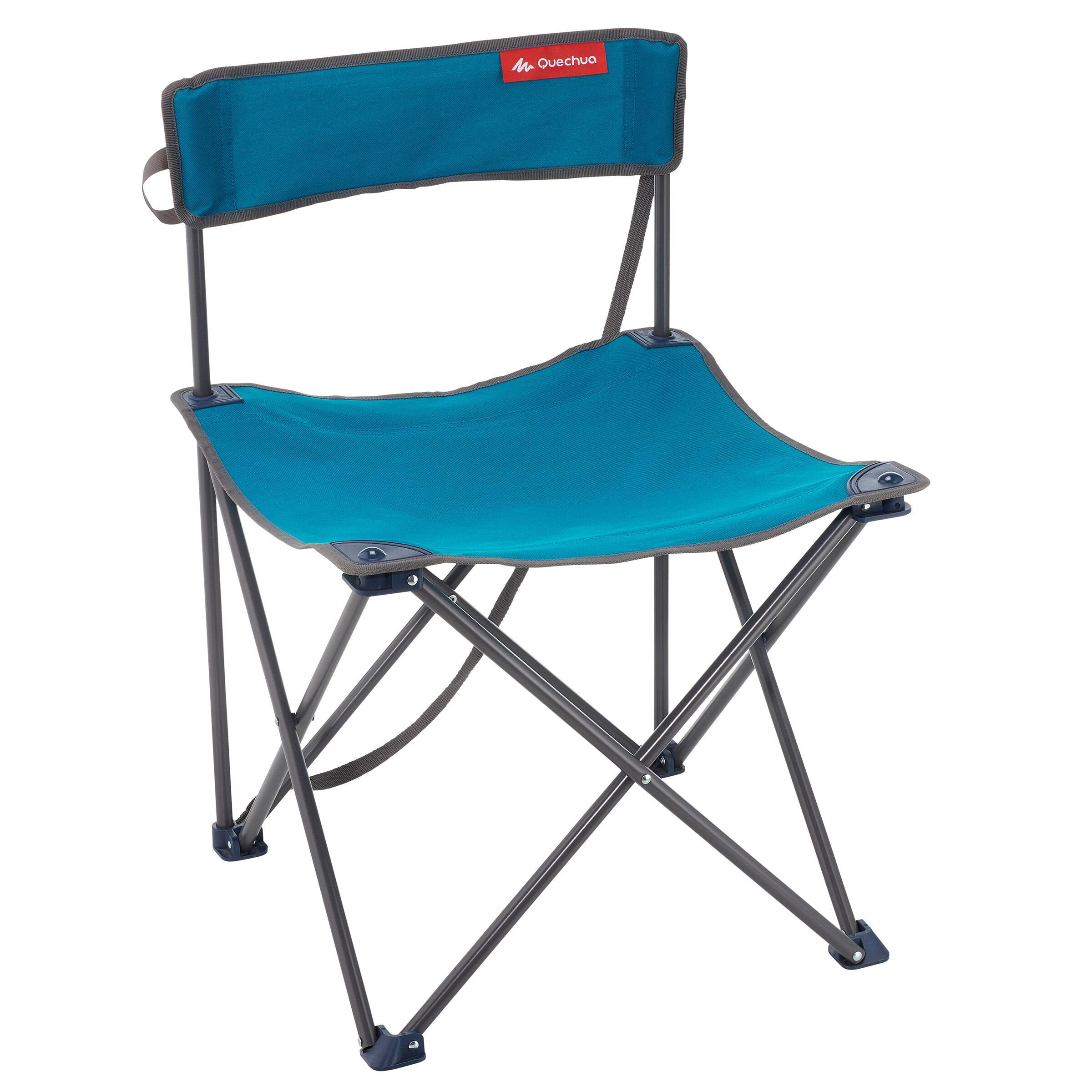 Silla de campamento Azul