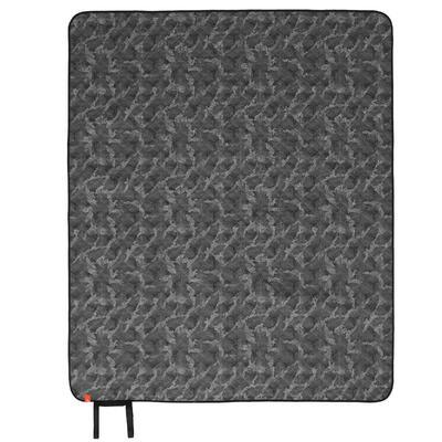 Plaid de camping et de randonnée - 140 x 170 cm - gris