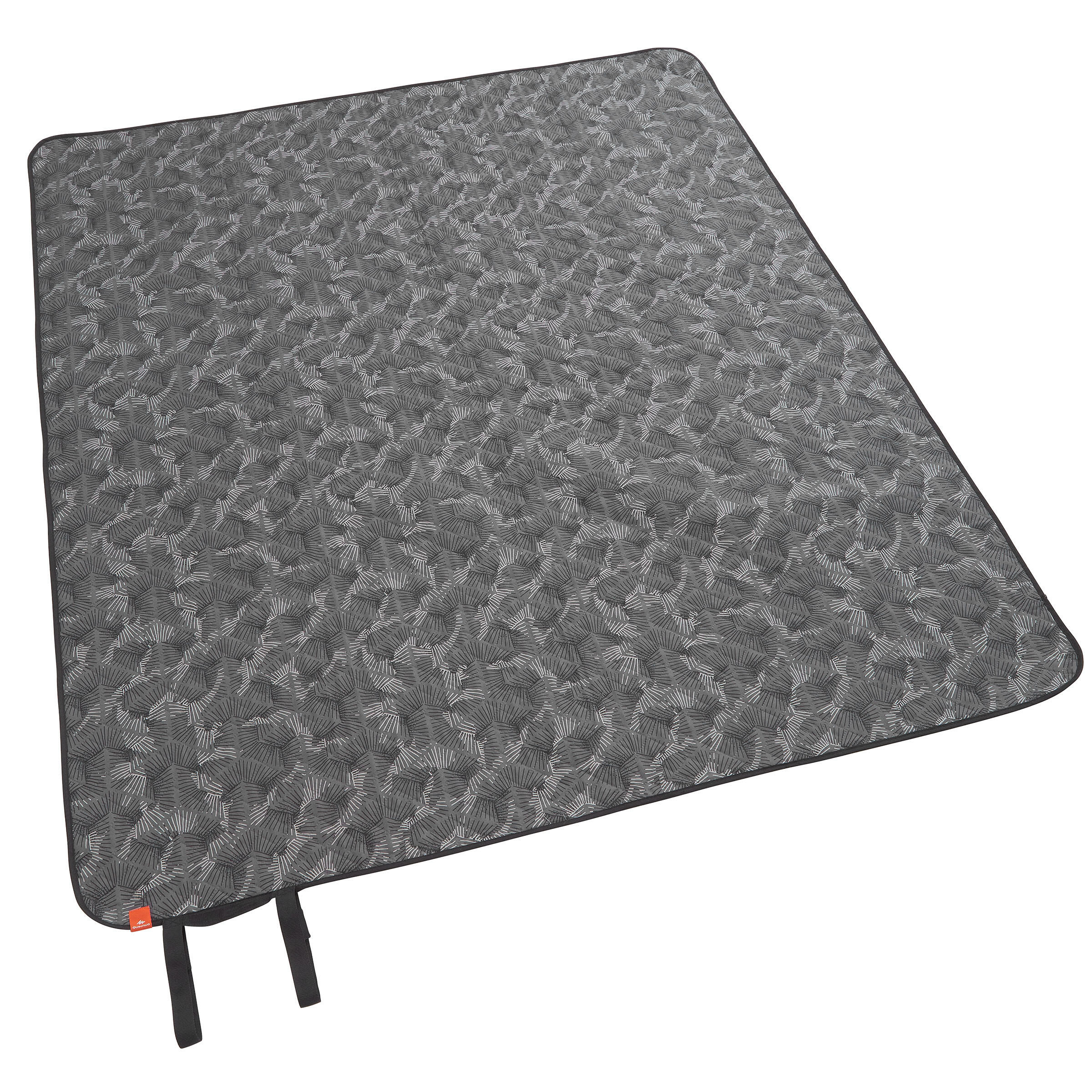 Country Walking Picnic Rug - Grey