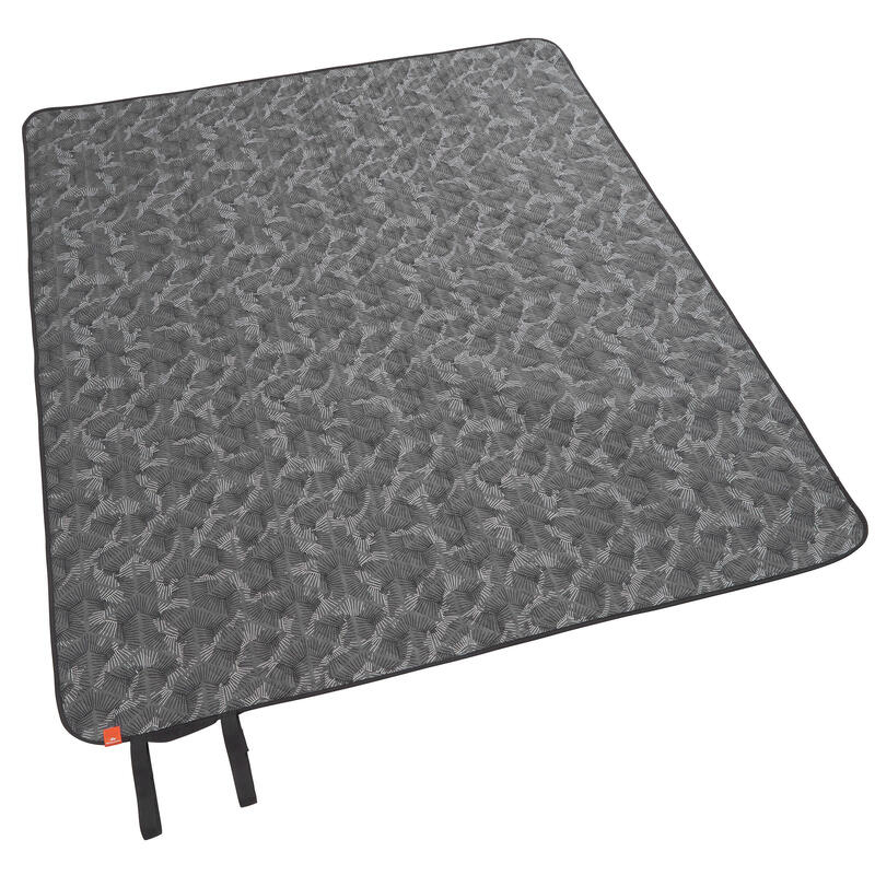 Camping and Hiking Blanket - 140 x 170 cm - grey