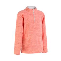 Hike 100 Girls' Hiking Fleece - Pink