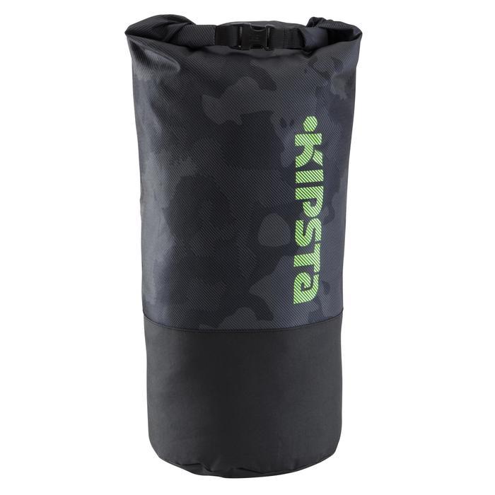 Rucksack Transporttasche für Teamsport-Zubehör 45Liter schwarz/gelb