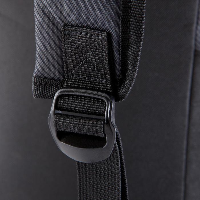 Sac à dos sports collectifs Accessoires 45L noir jaune - 1066879