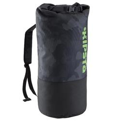 Tas voor trainingsmaterialen teamsport 45 liter zwart geel