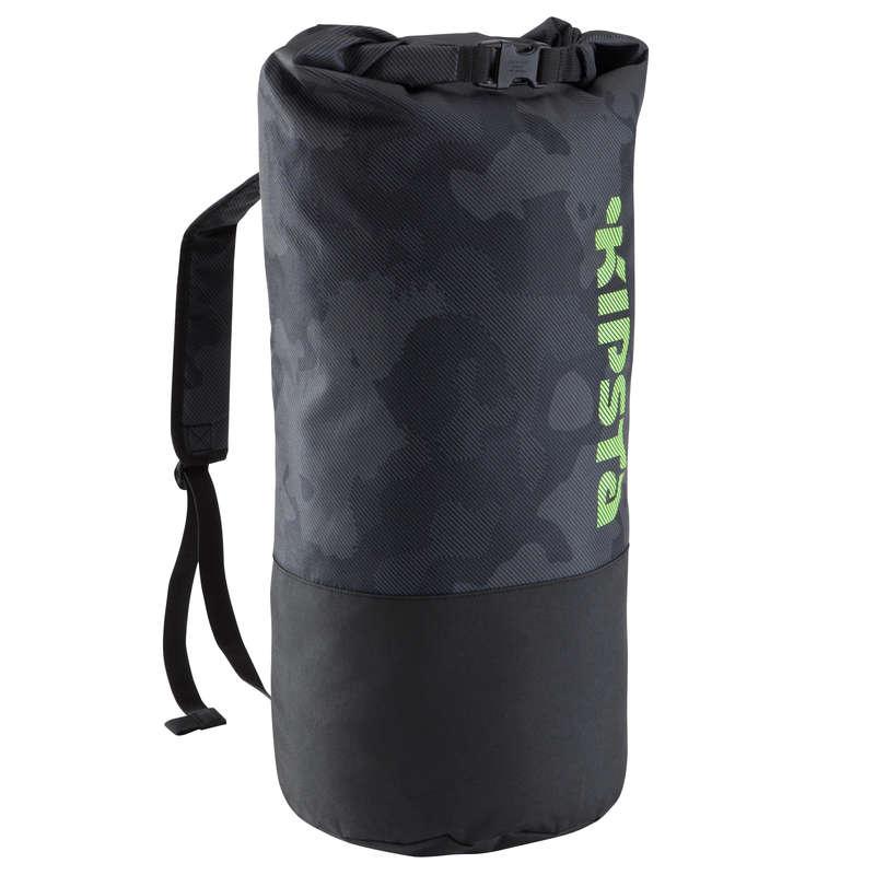 Accessori palloni Sport di squadra - Zaino sport 45L nero KIPSTA - Borse, pettorine, ostacoli e accessori