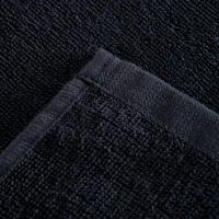 Serviette grande entraînement coton noir