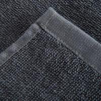 Serviette grande entraînement coton gris