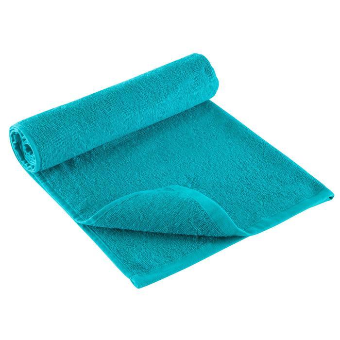 Sporthandoek fitness klein, blauw