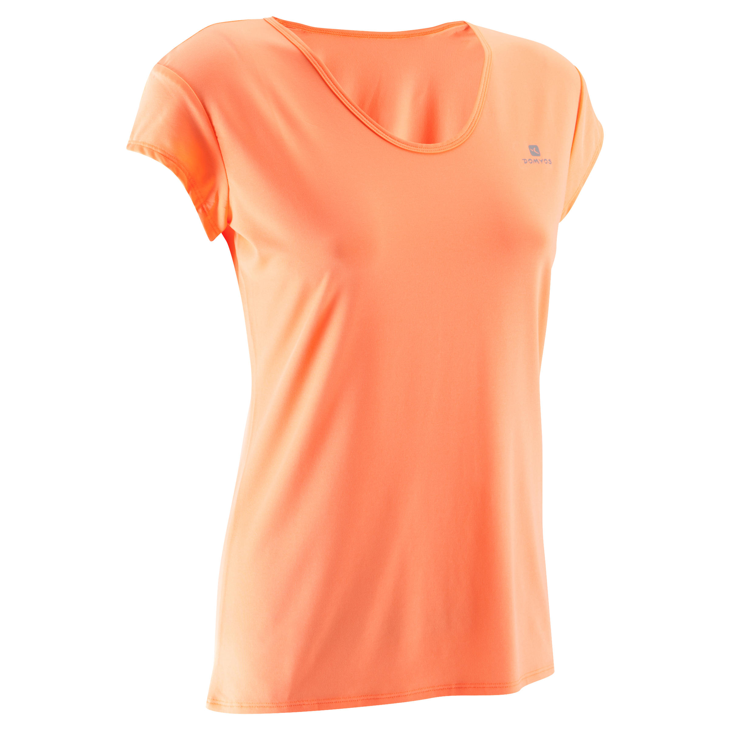 Domyos T-shirt basic fitness cardio Energy dames - WOOSE.NL - Voor jou ...