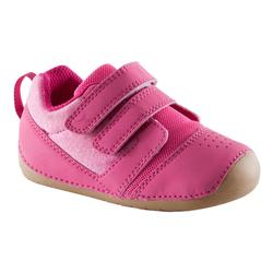 Chaussures 500 I LEARN GYM rose fuschia/marron