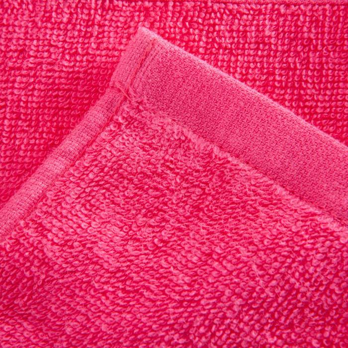 Toalla pequeña de algodón fitness rosa