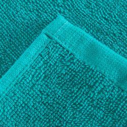 Fitness-Handtuch klein Baumwolle blau