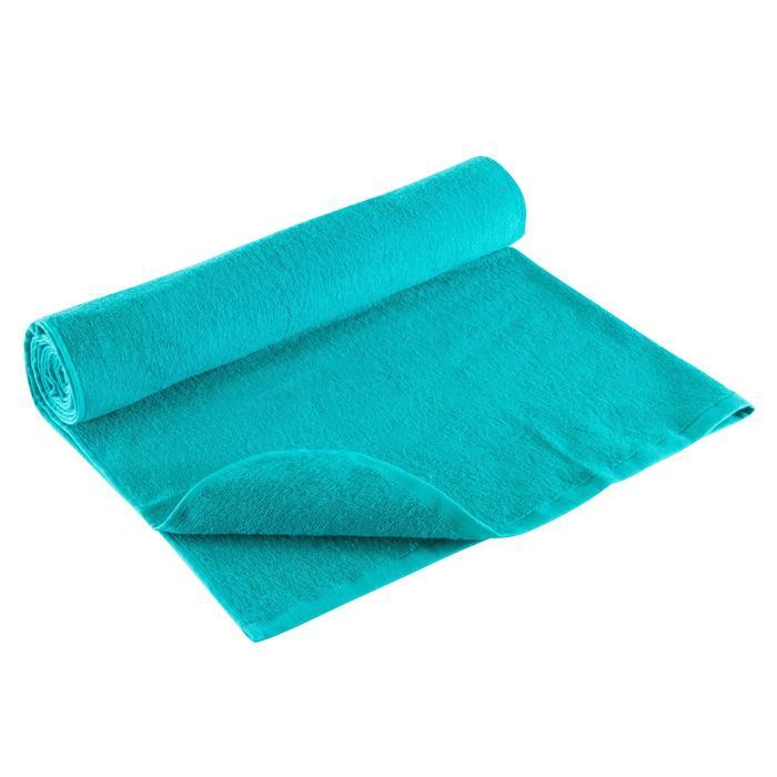 Toalla Gimnasio Cardio Fitness Domyos Azul 130x85cm Felpa