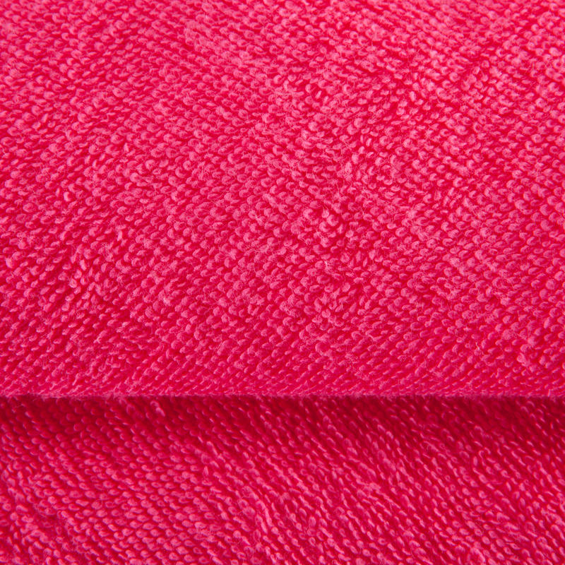 Small Cotton Fitness Towel - Pink