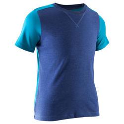 T-shirt met korte mouwen gym jongens