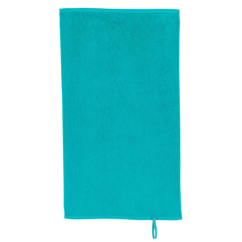 Serviette petite fitness coton bleu