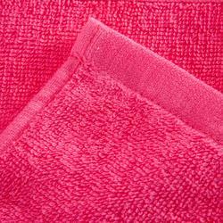 Toalla grande de algodón fitness rosa